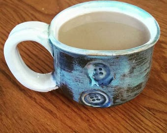 Small Button Mug