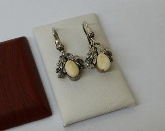 Earrings costume Grandeln antique 835 SO177
