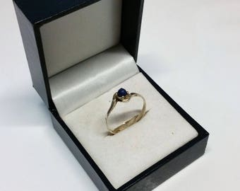 18.3 mm ring Petite silver 835 Lapis SR814