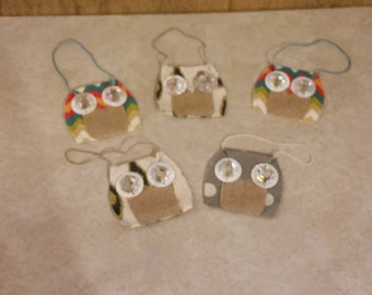 Fabric Pattern Owl