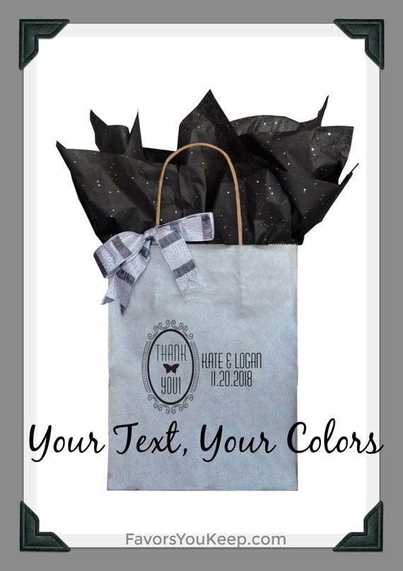 Personalized Wedding Gift Bags For Guests : Guest Gift Bag Personalized Wedding Guest Gift Bag Custom Welcome Bag ...