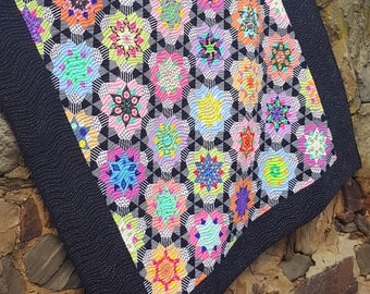 Stargazer Quilt by Lilabelle Lane Creations - English Paper Piecing Pattern and Template SET - New Shapes * EOFY Sale *