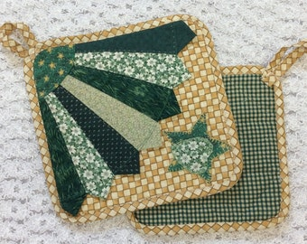 Hand Quilted Hot Pads