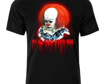 Pennywise the Clown/IT/We All Float Down Here t-shirt