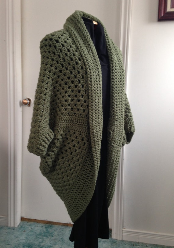 Cocoon Cardigan Sweater