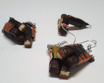 Chocolate Bars Earrings