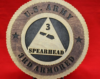 US Army 3rd Armored Spearhead