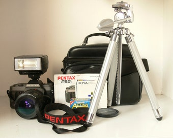 REDUCED Pentax P30T SLR Camera Kit - With Everything You Need - Ideal For Student Photographer / Beginner