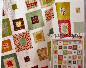 """Cluck. Cluck. Sew. Quilt Pattern ~ """"Skipping Squares"""" #112"""