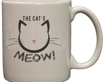 The Cat's Meow 11oz Coffee Mug