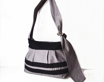 Sling bag, Diaper bag, Babywearing bag, Crossbody canvas bag, Diaper bag, Womens purse canvas, Gift Nappy bag with zipper, Medium size purse