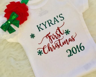 "Shop ""first christmas"" in Clothing"