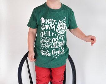 Cute christmas shirt | Etsy