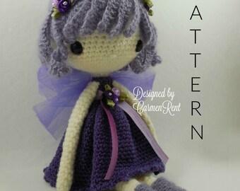 "Fairy Maya 13""-Amigurumi Doll Crochet Pattern"