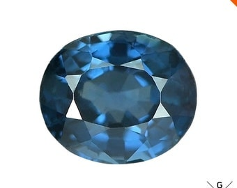 Blue Spinel stone 0.92ct. Exquisite gem! Natural clean Rare Color blue Spinel loose gemstone Oval cut Spinel stone for Ring see VIDEO