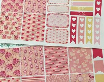 XOXO Small Set of Planner Stickers