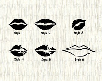 Lip car decal, Lip decal, Kiss of Death decal, Kiss of poison decal, Poison Decal, Skull and Crossbones Decal, Kiss Decal, Smooch Decal