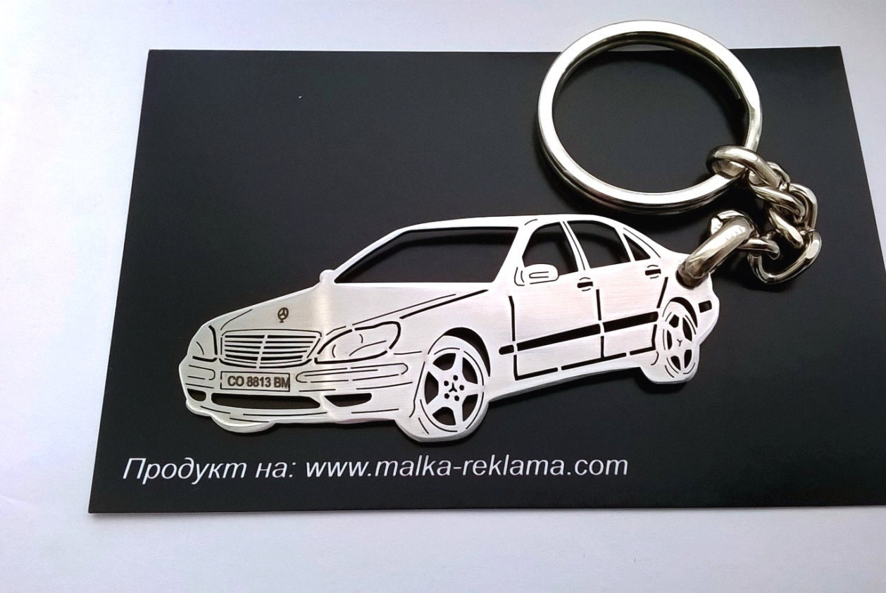 Mercedes keychain mercedes benz keychain mercedes s class for Mercedes benz chain