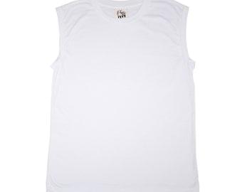White Modal Tank Top