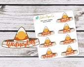 Taco Tuesday Date Cover Planner Stickers {9042 TTues Date Covers}