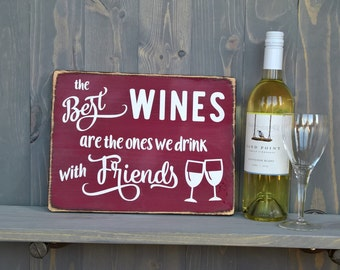 Gifts for friends - wine lovers - wine gifts - hostess gift - man cave decor - housewarming gift - funny wine - gifts for mom - man cave