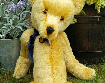 "Stanley  ""SORRY SOLD"" available to order.......Traditional Teddy Bear"