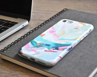 iPhone 6 Plus Case iPhone 6s Plus Case iPhone Case 6 Plus iPhone Case 6s Plus - Brushwork Freestyle - Oil Painting Texture - Slim Soft Case