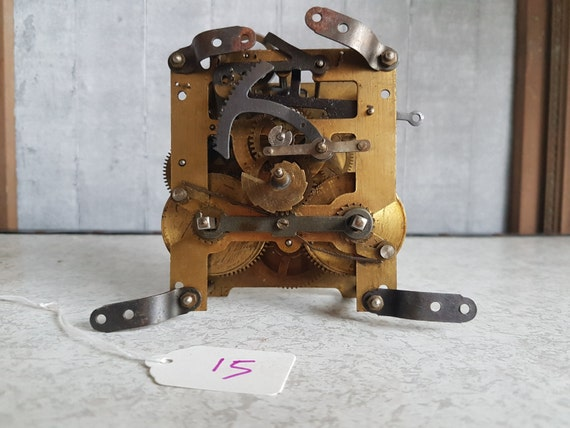 Clock Mechanism 15 Sculptural Steampunk Project