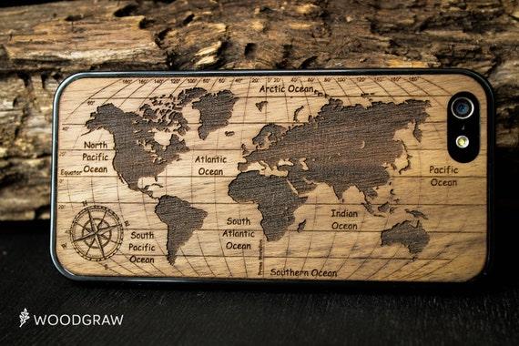 coque carte monde iphone 7