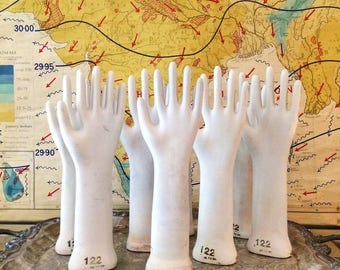 Porcelain hand glass hand glove hand glass glove mold glass ring hand factory hand industrial glove mold medical model