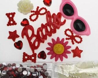 Barbie Summertime Sunglasses DIY Phone Case Kit   I48