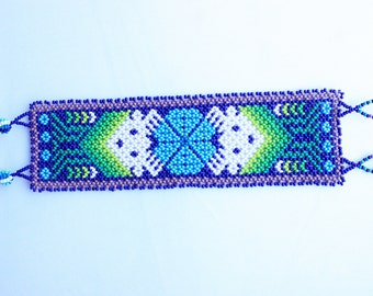 Power Animal Huichol Bracelets Handmade in Mexico