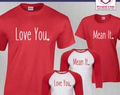 Couples Shirt Love You Me...