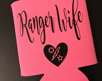 Army Ranger Wife Can Cooler -  (multiple colors available)