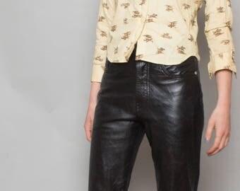 70's Buttercup Equestrian Blouse Shirt