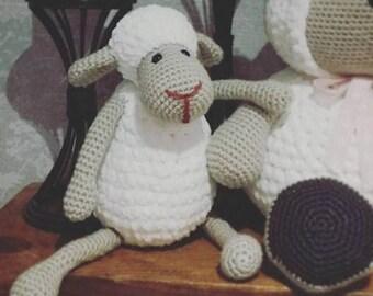 soft cuddly lulu the amigurumi lamb crochet