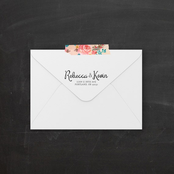 Items Similar To Printable Return Address Label Sticker