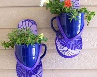 Summer Flip Flop Planters