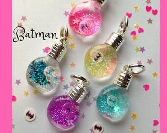 Batman Snowglobe Necklace