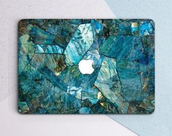 Blue Marble Case Macbook Hard Case Maeble  Macbook Air Marble Laptop Sleeves Marble Hard Case Laptop Marble Case Macbook Skin