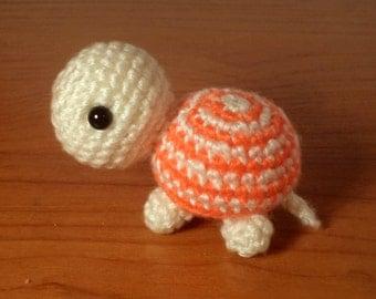 Cute amigurumi turtle