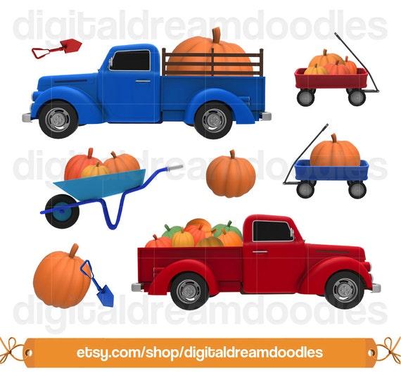 Pumpkin Patch Clipart Pumpkin Truck Clip Art Autumn Clipart