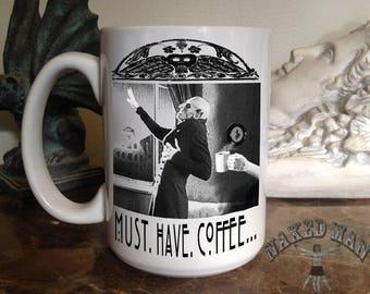 Nosferatu 15 oz Coffee Mug