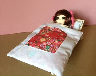 Nice bed a place articulated style Japanese exceptional Piece for the rest of your Dolls