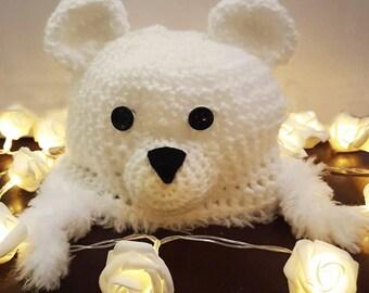Crochet baby/toddler/child's hat. 6-12 months