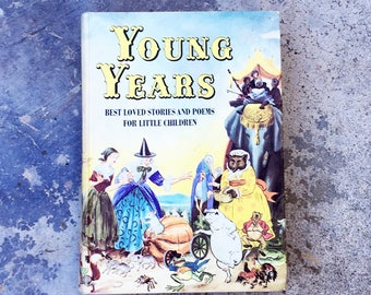 Young Years, 1971 Beautifully Illustrated Vintage Children's Book