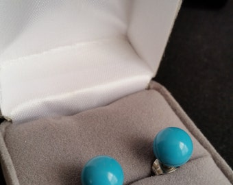 Vintage Ball Earrings