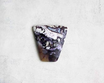 Tiffany Stone Cabochon - Natural Purple Stone Cab - Destash
