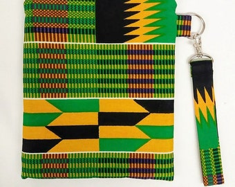 Kente African Print Tablet/Kindle/E Reader Gadget/Device Case Sleeve