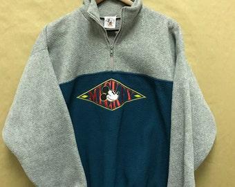 Mickey & CO Fleece Pullover VTG 90s Disney Collection